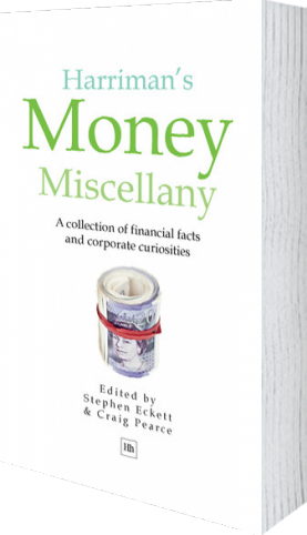 Cover of Harriman's Money Miscellany (Hardback) by Stephen Eckett