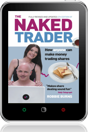 Cover of The Naked Trader (Tablet)