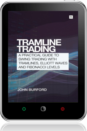 Cover of Tramline Trading on Tablet by John Burford