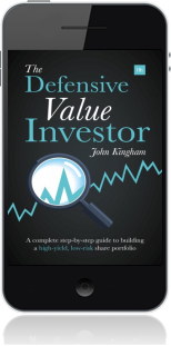 Cover of The Defensive Value Investor on Mobile by John Kingham