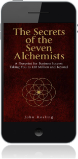 Cover of The Secrets of the Seven Alchemists on Mobile by John Rosling