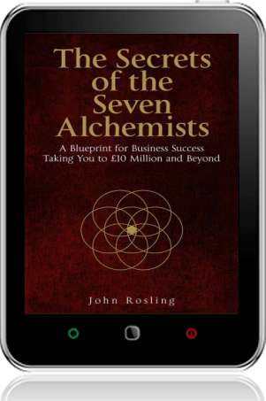 Cover of The Secrets of the Seven Alchemists on Tablet by John Rosling