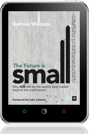 Cover of The Future is Small on Tablet by Gervais Williams