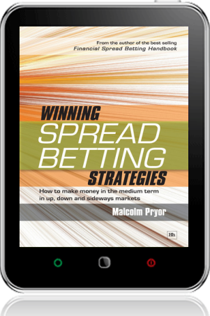 Cover of Winning spread betting strategies on Tablet by Malcolm Pryor