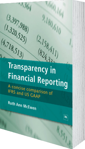 Cover of Transparency in Financial Reporting (Paperback) by Ruth Ann McEwen