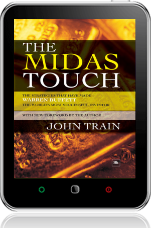 Cover of The Midas Touch on Tablet by John Train