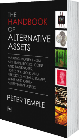 Cover of The Handbook of Alternative Assets by Peter Temple