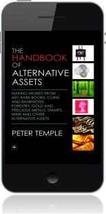 Cover of The Handbook of Alternative Assets on Mobile by Peter Temple