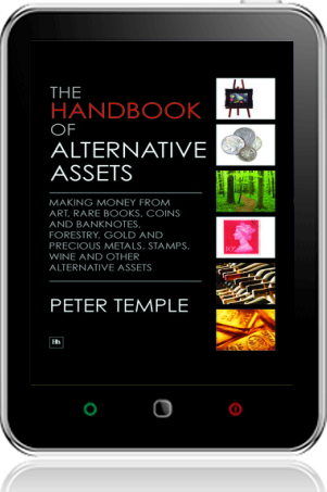 Cover of The Handbook of Alternative Assets on Tablet by Peter Temple