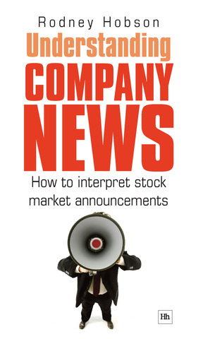 Cover of Understanding Company News by Rodney Hobson