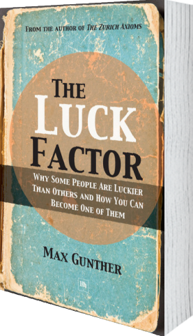 Cover of The Luck Factor (Paperback) by Max Gunther