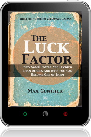 Cover of The Luck Factor on Tablet by Max Gunther