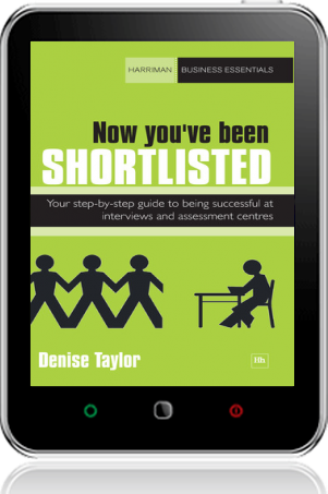 Cover of Now you've been shortlisted on Tablet by Denise Taylor
