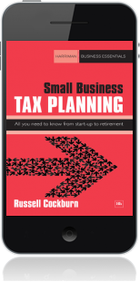 Cover of Small Business Tax Planning on Mobile by Russell Cockburn