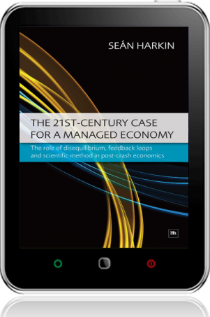 Cover of The 21st-Century Case for a Managed Economy (Tablet)