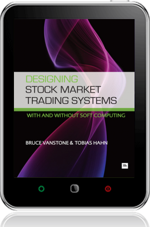 Cover of Designing Stock Market Trading Systems on Tablet by Bruce Vanstone andTobias Hahn