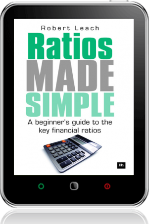 Cover of Ratios Made Simple on Tablet by Robert Leach