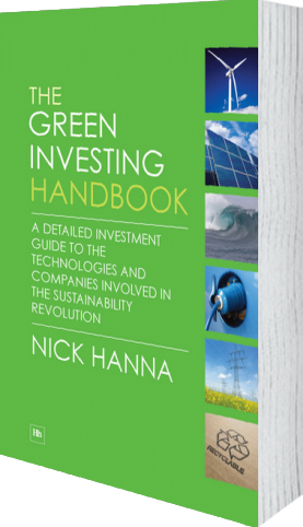 Cover of The Green Investing Handbook by Nick Hanna