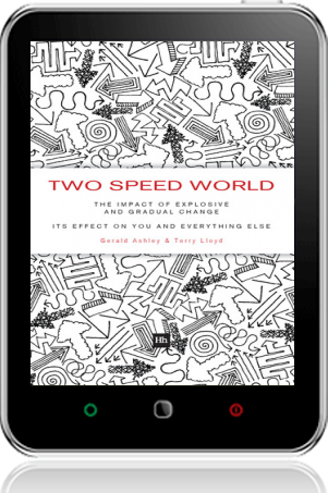 Cover of Two Speed World on Tablet by Gerald Ashley andTerry Lloyd