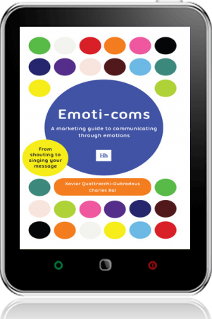 Cover of Emoti-coms on Tablet by Xavier Quattrocchi-Oubradous andCharles Bal