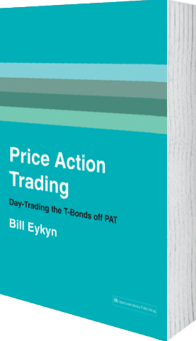 Cover of Price Action Trading (Paperback) by Bill Eykyn