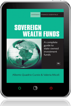 Cover of Sovereign Wealth Funds on Tablet by Alberto Quadrio Curzio andValeria Miceli