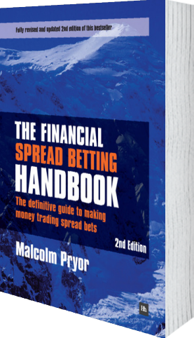 Cover of The Financial Spread Betting Handbook by Malcolm Pryor