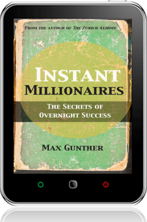 Cover of Instant Millionaires on Tablet by Max Gunther
