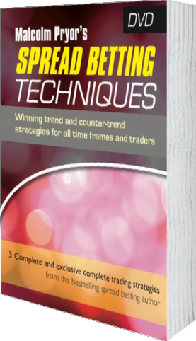 Cover of Malcolm Pryor's Spread Betting Techniques - DVD by Malcolm Pryor