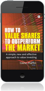Cover of How to Value Shares and Outperform the Market on Mobile by Glenn Martin
