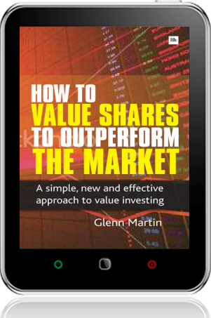Cover of How to Value Shares and Outperform the Market on Tablet by Glenn Martin