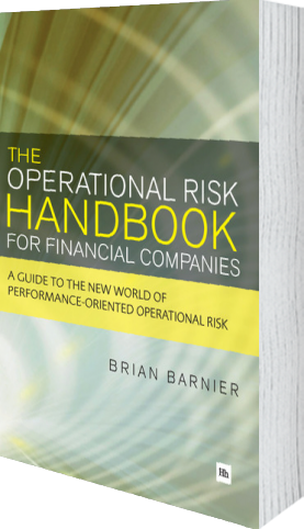 Cover of The Operational Risk Handbook for Financial Companies (Paperback) by Brian Barnier