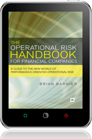 Cover of The Operational Risk Handbook for Financial Companies (Tablet)