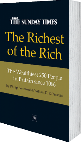 Cover of The Richest of the Rich (Paperback) by Philip Beresford and William D. Rubinstein