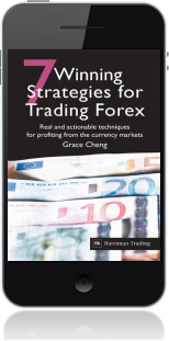 Cover of 7 Winning Strategies For Trading Forex on Mobile by Grace Cheng