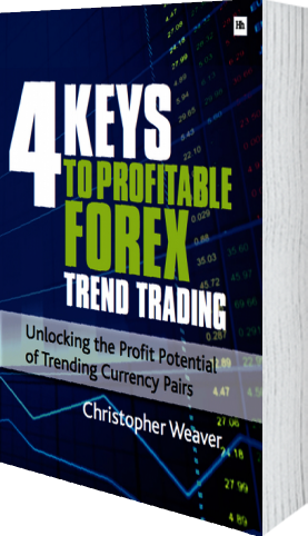 Cover of 4 Keys to Profitable Forex Trend Trading (Paperback) by Christopher Weaver