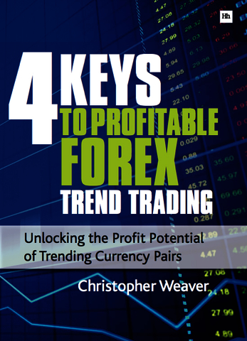 Cover of 4 Keys to Profitable Forex Trend Trading by Christopher Weaver