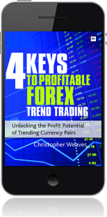 Cover of 4 Keys to Profitable Forex Trend Trading (Mobile Phone)