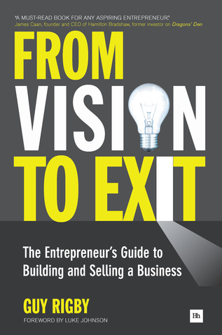 Cover of From Vision to Exit by Guy Rigby