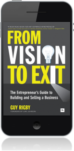 Cover of From Vision to Exit on Mobile by Guy Rigby