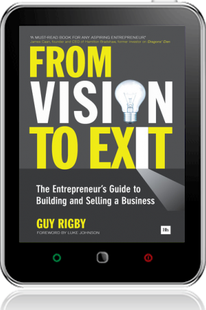 Cover of From Vision to Exit on Tablet by Guy Rigby