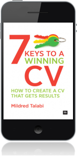 Cover of 7 Keys to a Winning CV on Mobile by Mildred Talabi