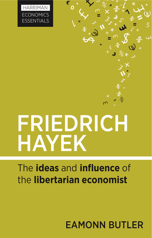 Cover of Friedrich Hayek by Eamonn Butler