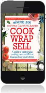 Cover of Cook Wrap Sell on Mobile by Bruce McMichael
