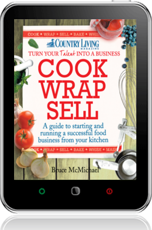 Cover of Cook Wrap Sell on Tablet by Bruce McMichael