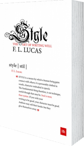 Cover of Style by F. L. Lucas