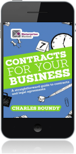 Cover of Contracts for Your Business on Mobile by Charles Boundy