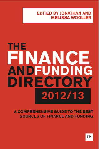 Cover of The Finance and Funding Directory 2012/13 by Jonathan Wooller