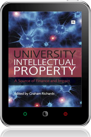 Cover of University Intellectual Property on Tablet by Graham Richards