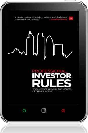 Cover of Professional Investor Rules on Tablet by Jonathan Davis